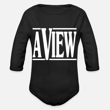 View A View - Organic Long-Sleeved Baby Bodysuit