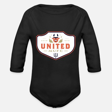 Crest crests - Organic Long Sleeve Baby Bodysuit