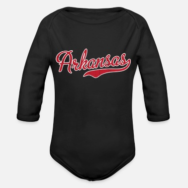 ArkansasVintage - Organic Long-Sleeved Baby Bodysuit