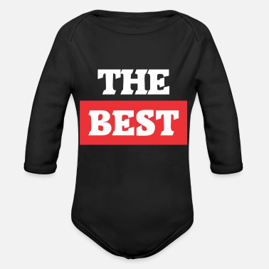 Best Of The Best - Organic Long-Sleeved Baby Bodysuit