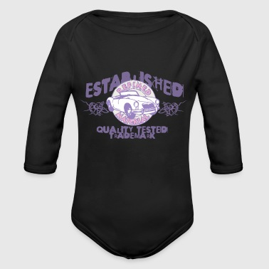 Established established - Organic Long Sleeve Baby Bodysuit