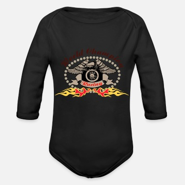 World Champion WORLD CHAMPION - Organic Long Sleeve Baby Bodysuit