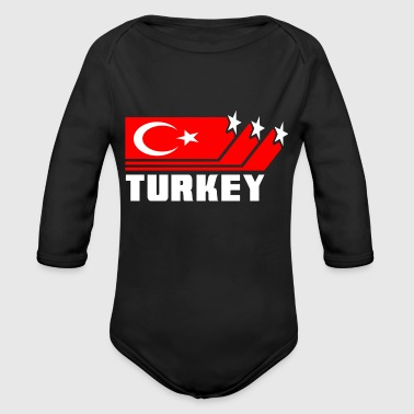 Turkey - Organic Long Sleeve Baby Bodysuit