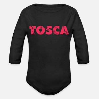 Color Pink Tosca Color Pink - Organic Long-Sleeved Baby Bodysuit