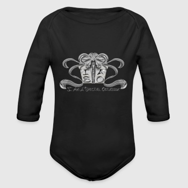 I AM A SPECIAL OCCASION! - Organic Long Sleeve Baby Bodysuit