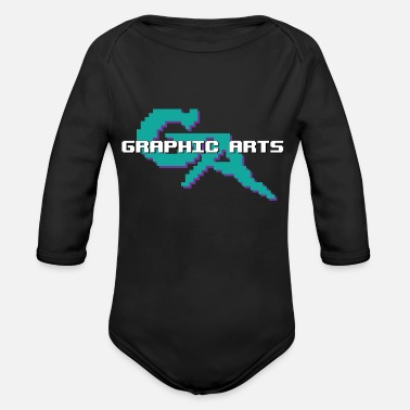Graphic Art Graphic Arts - Organic Long-Sleeved Baby Bodysuit