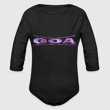 Goa LOVE TECHNO GESCHENK goa pbm GOA goa - Organic Long Sleeve Baby Bodysuit