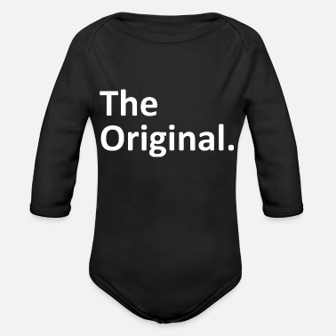 Original The Original The Remix Matching Family - Organic Long-Sleeved Baby Bodysuit