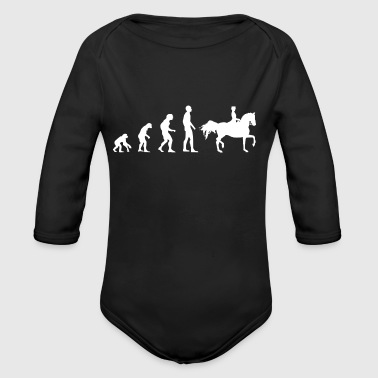 Evolution dressage - Organic Long Sleeve Baby Bodysuit