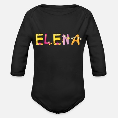 Elena Elena - Organic Long-Sleeved Baby Bodysuit