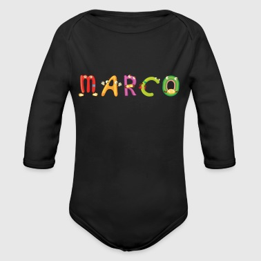 Marco - Long Sleeve Baby Bodysuit