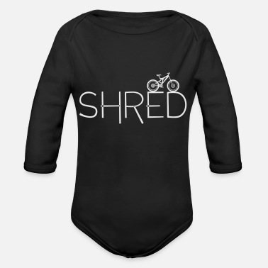 Shred Shred - Organic Long-Sleeved Baby Bodysuit