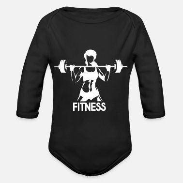 Fitness Fitness - Organic Long-Sleeved Baby Bodysuit