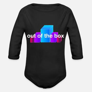 boxes - Organic Long-Sleeved Baby Bodysuit