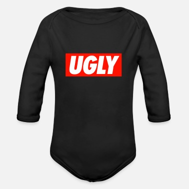 Ugly UGLY - Organic Long Sleeve Baby Bodysuit
