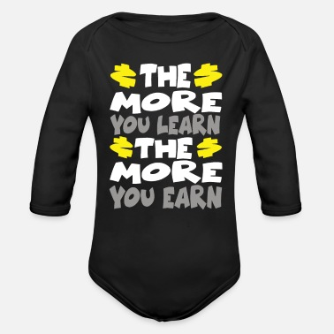 Capitalism Capitalism - Organic Long-Sleeved Baby Bodysuit