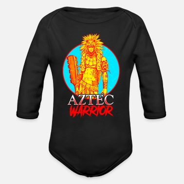Aztec Warriors Aztec Warrior - Organic Long-Sleeved Baby Bodysuit