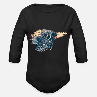 Blackbird Blackbird - Organic Long-Sleeved Baby Bodysuit