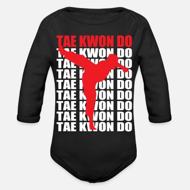 Tae Kwon Do Tae Kwon Do - Organic Long-Sleeved Baby Bodysuit