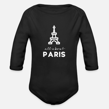 Tourism Tourism - Organic Long-Sleeved Baby Bodysuit