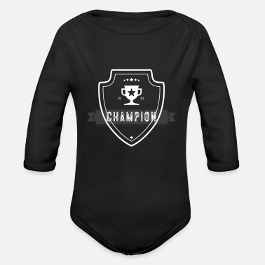 Record Champion Champion - Organic Long-Sleeved Baby Bodysuit