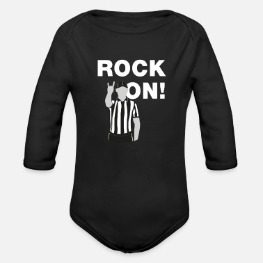 Rockon - Organic Long-Sleeved Baby Bodysuit