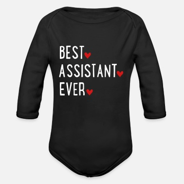 Assistant assistant - Organic Long-Sleeved Baby Bodysuit