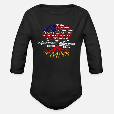 German American German - Organic Long-Sleeved Baby Bodysuit