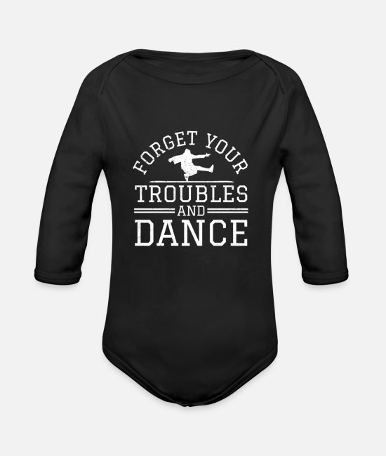 Mountains Baby One Pieces - Hiking t shirt - Organic Long-Sleeved Baby Bodysuit black