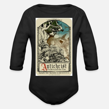 Antichrist Antichrist Movie Art - Organic Long Sleeve Baby Bodysuit