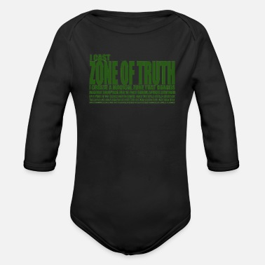 i create a magical - Organic Long-Sleeved Baby Bodysuit
