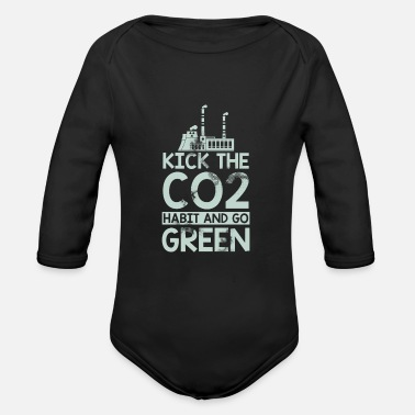 Pollution Pollution - Organic Long-Sleeved Baby Bodysuit
