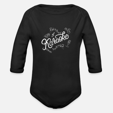 Performance Karaoke Love Sing Party Music for Karaoke Legend - Organic Long-Sleeved Baby Bodysuit