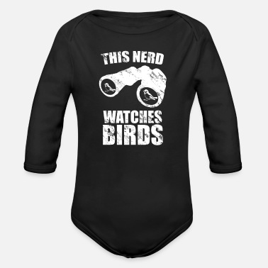 Ornithologist Ornithologist Nerd - Organic Long-Sleeved Baby Bodysuit