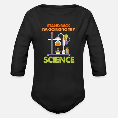 Science experiment - Organic Long-Sleeved Baby Bodysuit
