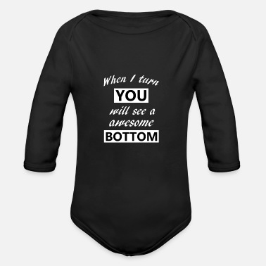 Funny Funny - Organic Long-Sleeved Baby Bodysuit