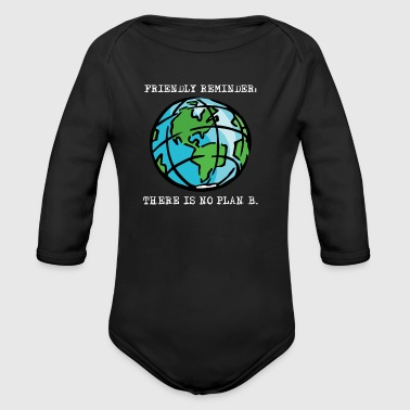 Happy Earth Day April 2018 Awareness T shirts - Organic Long Sleeve Baby Bodysuit