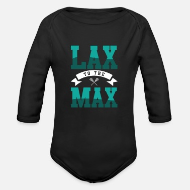 Lax Lax to Max - Organic Long-Sleeved Baby Bodysuit