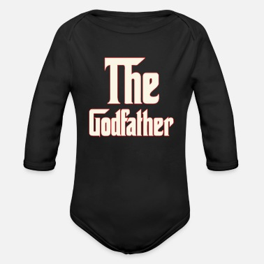 Godfather The Godfather - Organic Long-Sleeved Baby Bodysuit