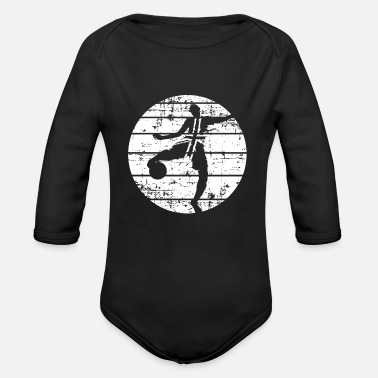 Football Club Football England football club - Organic Long-Sleeved Baby Bodysuit