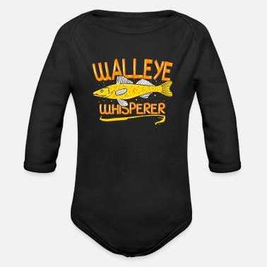 Shop Walleye Fishing Baby Bodysuits online | Spreadshirt