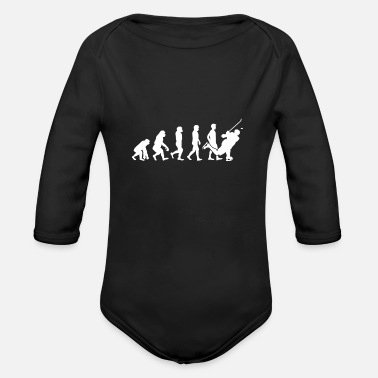 Evolution Evolution Hockey - Organic Long-Sleeved Baby Bodysuit