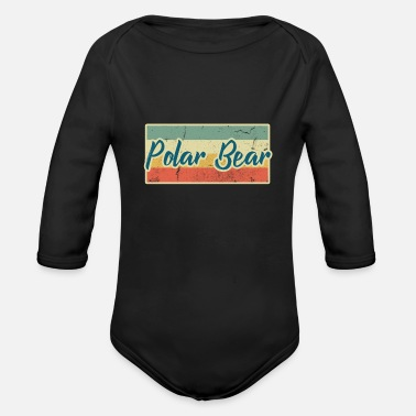 Polar Bear Polar Bear - Organic Long Sleeve Baby Bodysuit
