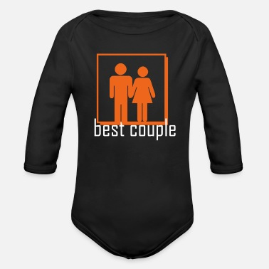 Couples couple - Organic Long-Sleeved Baby Bodysuit