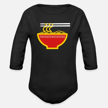 Noodles Noodles - Organic Long-Sleeved Baby Bodysuit