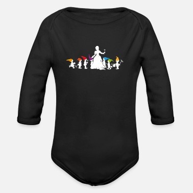 Snow White Snow White - Organic Long-Sleeved Baby Bodysuit