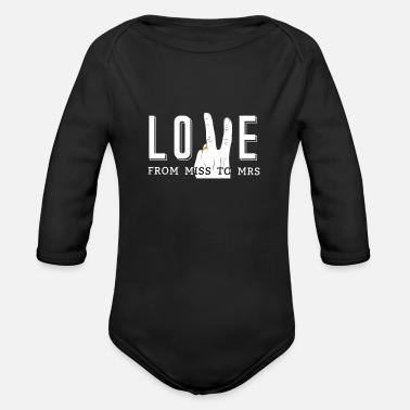 Engagement Engagement - Organic Long-Sleeved Baby Bodysuit