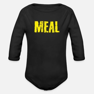 Meal Meal - Organic Long-Sleeved Baby Bodysuit
