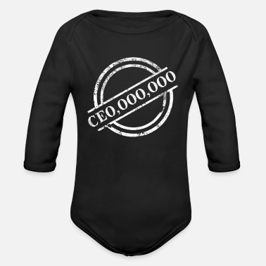 Ceo CEO - Organic Long Sleeve Baby Bodysuit