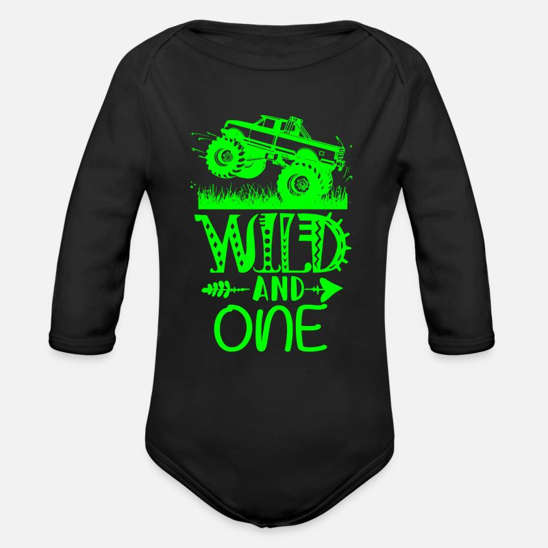 Monster Truck Baby Clothing